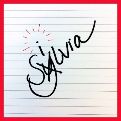 Silvia met een i. Niet met een y-grec.